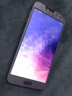 Celular Samsung Galaxy J4 Usado Tela Quebrada
