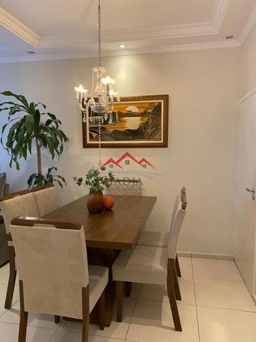 Imagem 1 de 14 de Apartamento A Venda Condomínio Vitória Em Jundiaí Sp - Ap00213 - 69335373