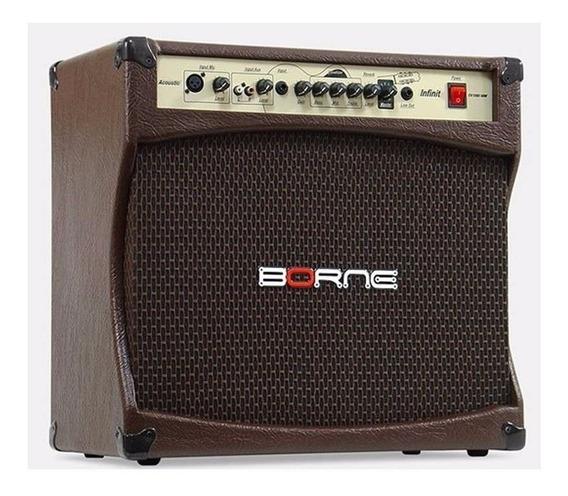 Amplificador Cubo Violão Acústico - Borne Infinit Cv12100...