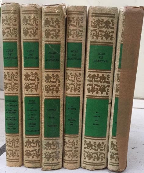 Coleção Obras De José De Alencar - 6 Volumes