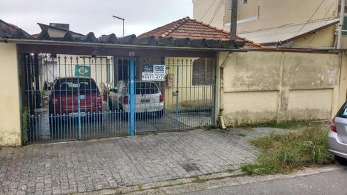 Imagem 1 de 1 de Casa Para Venda Em Santo André, Vila Pires, 2 Dormitórios, 1 Banheiro, 3 Vagas - 6687_1-1325729