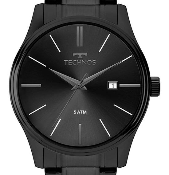 Relógio Technos Masculino Classic Analógico 2115mpo/4p + Nf