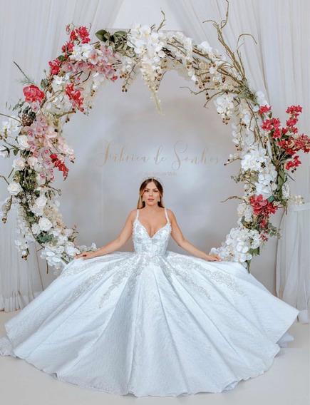Vestido Noiva Bárbara Melo