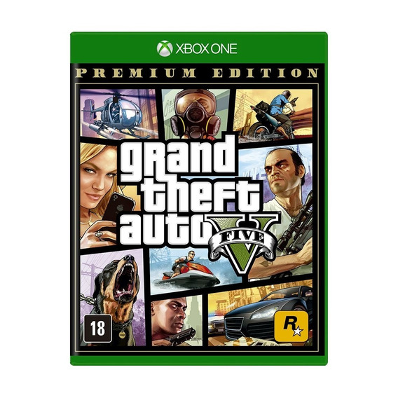 Grand Theft Auto V Premium Edition Gta 5 Xbox One Física