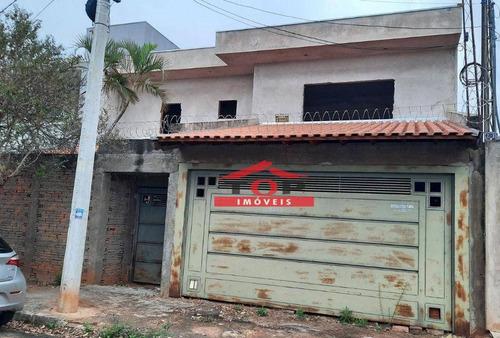 Imagem 1 de 1 de Casa Com 4 Dormitórios À Venda, 350 M² Por R$ 450.000,00 - Vila Santa Rosa - Bauru/sp - Ca1074