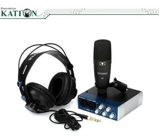 Kit De Grabacion Presonus Audiobox 96 Studio La Plata