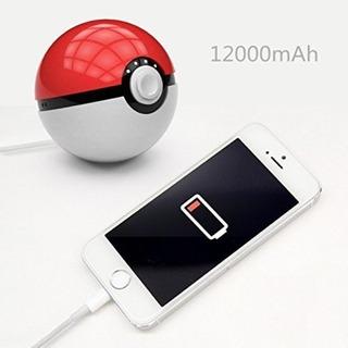 Power Bank Poke Bola Carregador De Celular Samsung iPhone