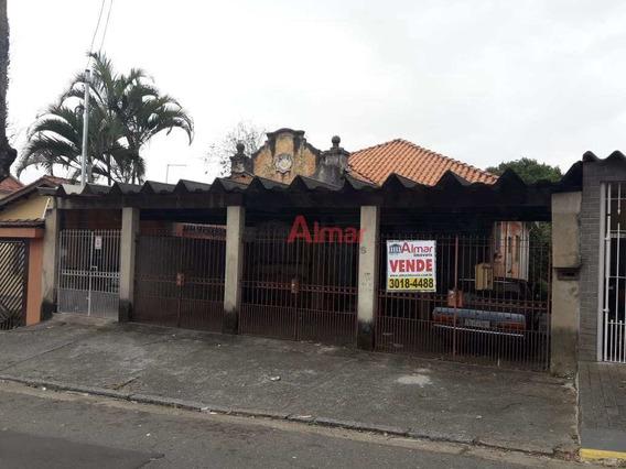 Excelente Terreno 828 M² Com Casa Antiga Próx. Shopping Penha - V7708