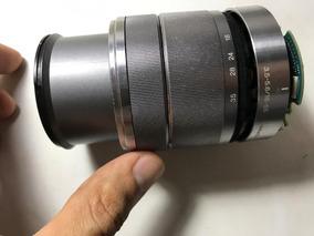 Câmera Digital Lente Sony Alpha Nex 18 - 55 Mm - Leia Aqui