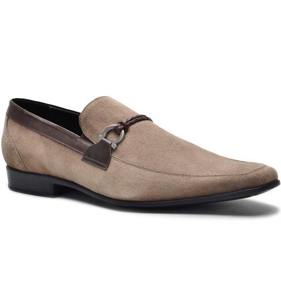 Sapato Social Em Couro Masculino Confortavel