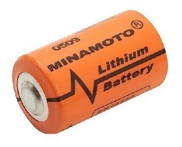 Bateria Litio Er14250 3,6v 1200mah Minamoto Kit C/10