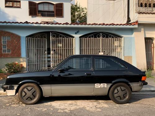 Chevette Hatch Sr Preto 1981 Impecável