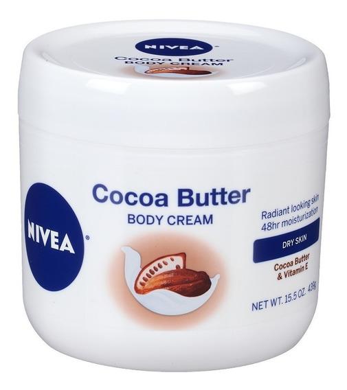 Nivea Cocoa Butter Manteca De Cacao Importada Original 439gr