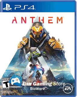 Anthem Para Ps4 + Poster Gratis