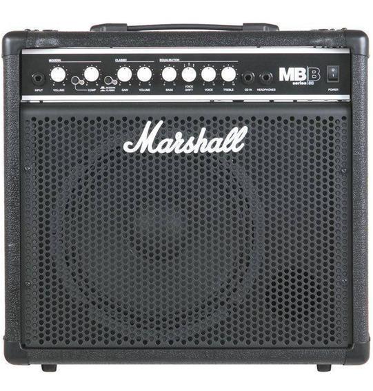 Amplificador Marshall Mb-30 Combo Para Bajo 30w Cuota