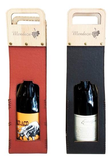 Estuche Porta Vino Para Una Botella Personalizados