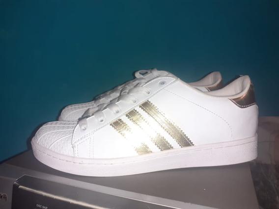 Zapatos adidas Clasicos Caballeros Blancos Talla41 ((20v))