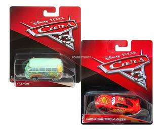 Cars 3 Filmore + Mcqueen Combo Mattel Original