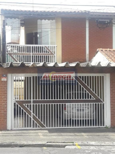 Sobrado Com 3 Dormitórios À Venda, 127 M² Por R$ 500.000 - Jardim Santa Mena - Guarulhos/sp - Ai9218