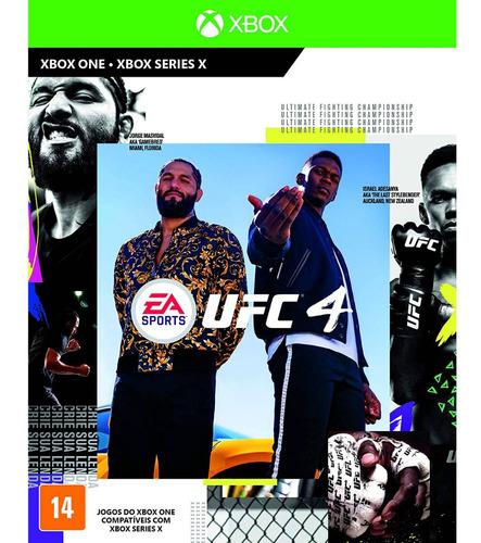 Ea Sports Ufc 4 Xbox One Mídia Física Lacrada