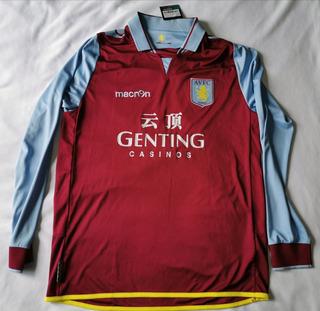 Playera Camiseta Aston Villa Football Club Extra Grande Nuev