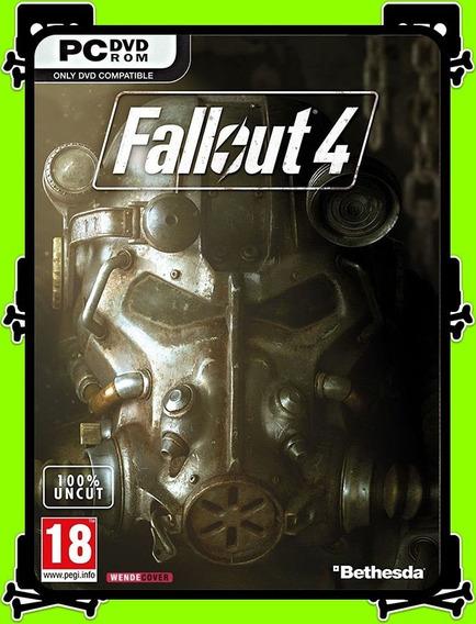 Fallout 4 Pc - 100% Original (steam Key)