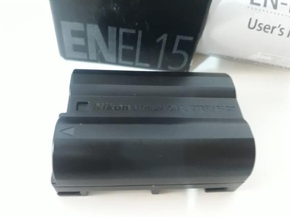 Bateria Nikon En-el15 D7000 D7100 D600 D800 E V1 (usada)