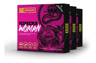 Kimera Woman - 60 Comps - Kit 3 Caixas - Termogênico