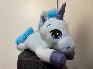 Unicornio De Peluche Turquesa