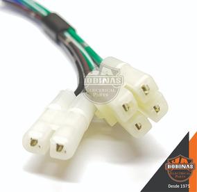 Conector Plug Terminal Cdi C/ Fios Honda Cbx200 Strada Novo