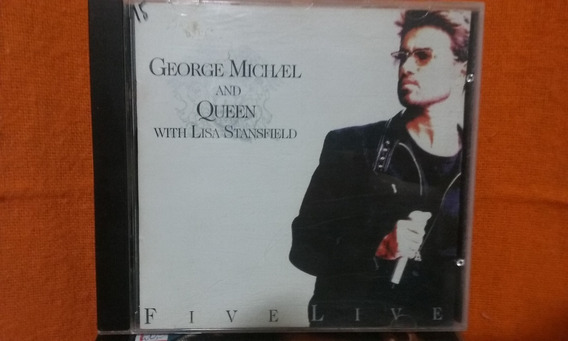 Cd George Michael And Queen - Five Live