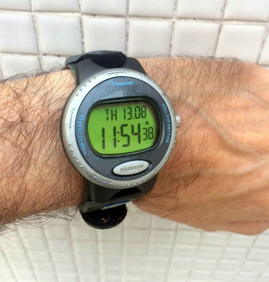 Relógio Timex Atlantis 100 I Control Familia Ironman