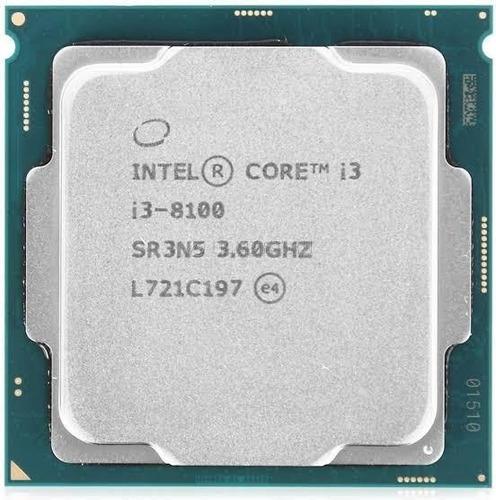 Processador I3 8100 8 Geração 3.6ghz