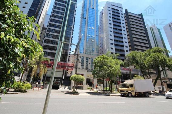 Sala Comercial Para Locação, Batel, Curitiba Pr - Sa0008