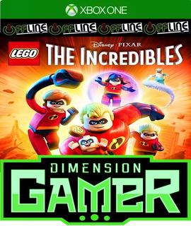 Lego The Incredibles - Xbox One - No Codigo - Off-line