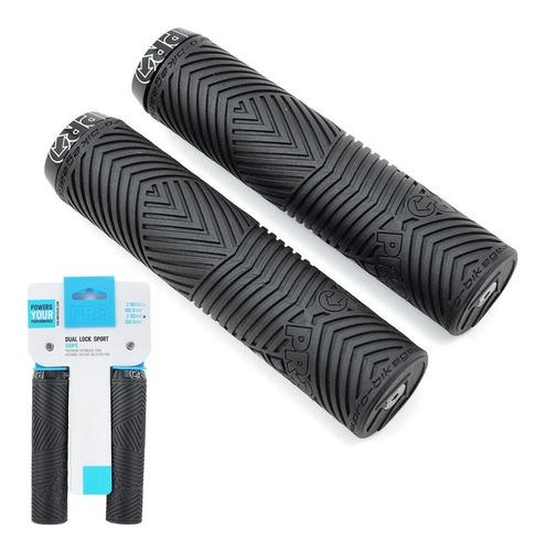 Puños Pro Dual Lock Sport - 132.5x32mm - Color Negro