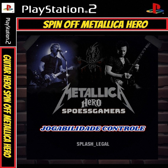 Guitar Hero 2 Metallica Hero Ps2 Spin-offs Patch - Controle