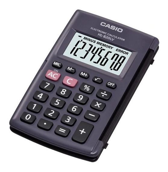 3 Calculadoras Casio Hl-820lv De Bolso 8 Dígitos Nf Lacrada