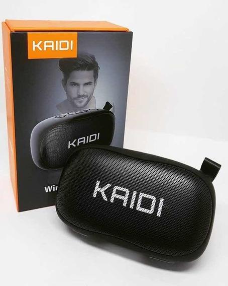 Caixa De Som Bluetooth Portátil Kaidi Kd811