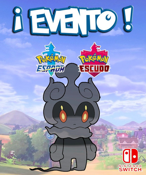 Marshadow / Evento - Pokémon Escudo Espada Sword Switch!