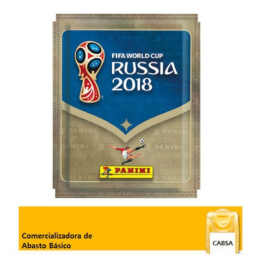 Sobre De Estampas Fifa World Cup Russia 2018 Panini