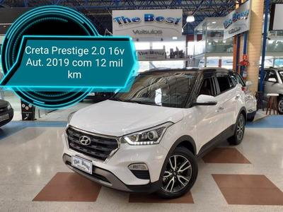 Hyundai Creta Prestige 2.0 Automática (baixa Km)