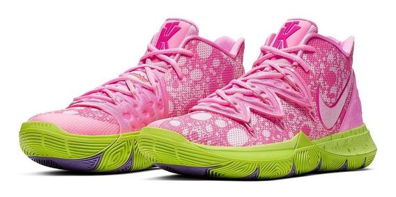Tênis Sneaker Nike Kyrie 5 Bob Esponja Patrick