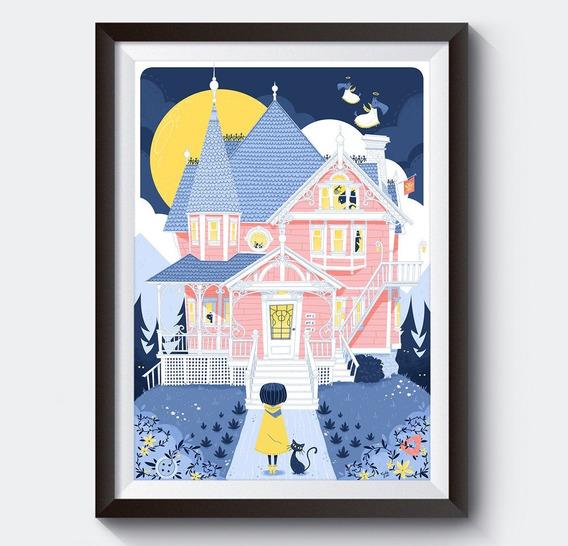 Poster Digital Original Usa De Coraline A3