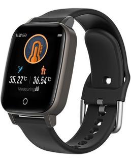 Smart Watch John L. Cook Co19 Alerta Temperatura Cardio