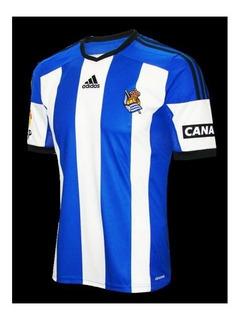 Árbol genealógico Perfecto pubertad  Camiseta Real Sociedad Adidas Camisetas Futbol 2001 - Fútbol en Mercado  Libre Argentina