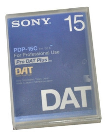 Fita De Audio Digital Sony Pdp-15c Fita Dat 15 Minutos