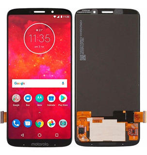 Tela Frontal Touch Display Oled Moto Z3 Play Xt1929 Original