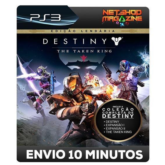 Destiny: The Taken King - Edição Lendária - Psn Ps3 - Pt-br