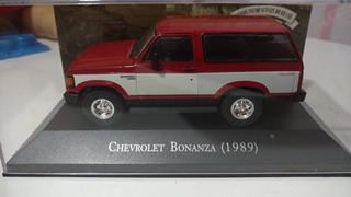 Carros Inesqueciveis Brasil 1/43 Chevrolet Bonanza Miniatura
